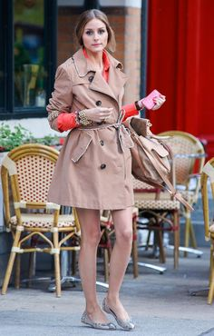 Olivia Palermo in New York City.