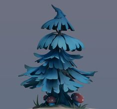 ArtStation - Fir Tree Model, Mark Mesmay Environment Concept, Environment Design, Clay Animation, Casual Art, 3d Tree, 3d Landscape, Environmental Art, Game Design, Traditional Art