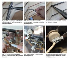 how to replace electric kiln elements! Good to know!
