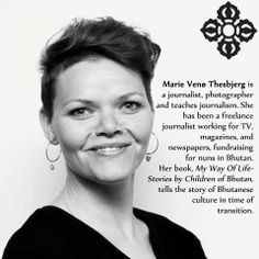 """""""Familiar with contradictions, destined to freedom, strengthened by challenges, driven by curiosity.."""" -Marie Venø Thesbjerg on herself."""