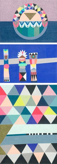 Lisa Lapointe Creative Colour, Colour Inspiration, Pattern Illustration, Surface Pattern Design, Motifs, Dream Big, Zentangle, Future House, Print Patterns