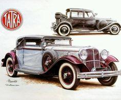 Vintage car ad
