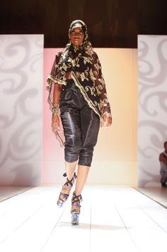 Josefa Dasilva @afwny 2011 #fashion #africanfashion #pr #luxury #africafashionweek #newyork #ny in #ny