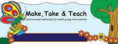 Great Blog! Male, Take & Teach instructional materials for small group intervention