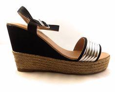 New Womens High Heel Wedge Platform Espadrilles Peep Toes Shoes Ankle Sandals Peep Toe Shoes, Shoes Sandals, Latest Shoe Trends, Buy Shoes, Ankle Straps, Womens High Heels, Espadrilles, Platform, Wedges