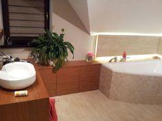 Łazienka - realizacja wg. projektu Julka MG Projekt  #łazienka #bathroom