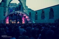 Concert in a ruined church in Nuremberg