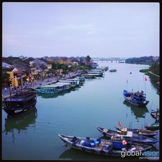 #Hoian #Vietnam by #AsiaFlycam Aerial Images, Hoi An, Southeast Asia, Switzerland, Vietnam, Destinations, Travel Destinations