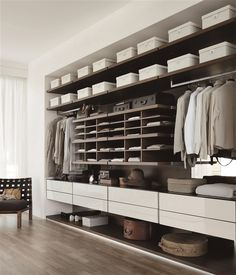 Bedroom Designs: Modern Storage Closets Ideas                                                                                                                                                                                 More