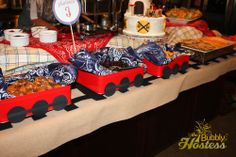 The Bubbly Hostess: Choo-Choo Train Birthday Party - The Buffet