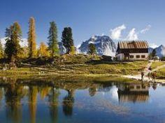 Hiking dei 3 laghi Cortina d'Ampezzo Dolomites Italy