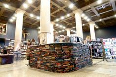 The Last Bookstore - Los Angeles, United States This piece of paradise is southern California's largest independent bookshop, situated in a former bank that's architecture has been preserved. Its marble columns and giant doors sit amongst hundreds of thousands of books. Besides attending its organised events, concerts and markets, we recommend you lose yourself in the labyrinth of dollar books.