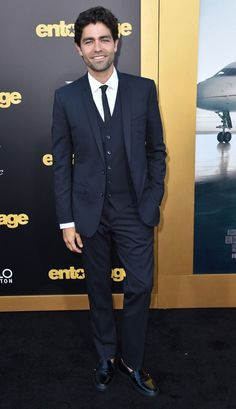 Adrien Grenier at the LA premiere of 'Entourage'