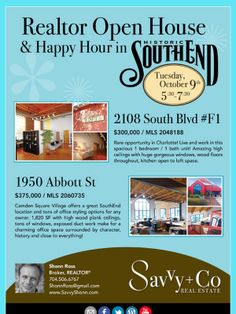 Check out this progressive Broker Open House Happy Hour!  Come visit!  :-)