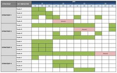 marketing timeline template Tips for Writing your Annual Search Marketing Plan Sales Strategy Template, Digital Marketing Strategy Template, Marketing Plan Outline, Marketing Plan Sample, Communication Plan Template, Advertising Plan, Simple Business Plan Template, Excel Calendar Template, Action Plan Template