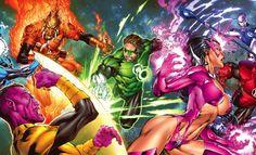 Conheça todas as Tropas dos Lanternas presentes nas histórias da DC Comics