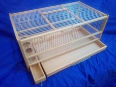 Xxl Wooden Cage Villa Hamster Mouse Ferret Pet Small
