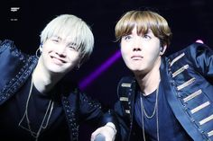 My hubby and J-Hope