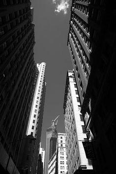 New York City Downtown.  Wall Art at http://frank-romeo.artistwebsites.com/