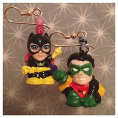 Batgirl & Robin by IntersectingDesigns on Etsy, $15.00