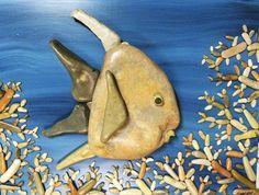 Рыба из камешек