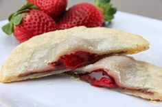 Mix and Match Mama: Strawberry Nutella Pies for Two. Easy dessert idea!