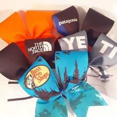 Hey, I found this really awesome Etsy listing at https://www.etsy.com/listing/560765892/outdoors-cheer-bow-gift-box-3-inch-texas