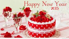 Happy New Year 2015 party background