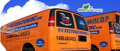 We restore your property back to pre-loss condition after a certain level of water damage.