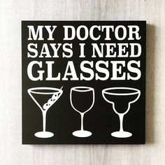 20 Bar Signs With Funny Quotes for Serving Porch Drinks With a Smile - Best Alcohol Quotes for Decorating Your Bar, Man Cave, or Porch Alcohol Bar, Alcohol Signs, Alcohol Glasses, Alcohol Bottles, Wine Bottles, Glass Bottles, Gifts For Wine Drinkers, Gifts For Wine Lovers, Funny Bar Signs