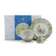Beatrix Potter Children's 3 Piece Place Setting