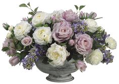 Rose, Peony, Lilac and Ranunculus Arrangement