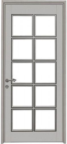 012 Lens - Puertas de Aluminio Toilet Door, Door Displays, Grey Doors, My Ideal Home, Door Gate, Main Door, Window Styles, Room Doors, Entrance Doors