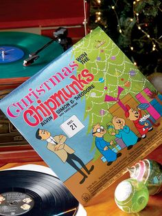 This Christmas Record Collection contains sound tracks from Charlie Brown and other classic films. The Childrens Holiday Vinyl Records give the gift of music. Christmas Jingles, Christmas Vinyl, Old Christmas, Christmas Bells, Christmas Classics, Xmas, Radio Record Player, Record Players, Vince Guaraldi