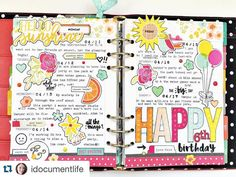 A Scrapbooker's Approach to Planning Cute Planner, Planner Tips, Planner Layout, Happy Planner, Carpe Diem Planner, Passion Planner, Planner Decorating, Day Planners, Planner Organization