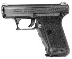 HK P7 M13. I want one in the worst way but couldn't ever justify parting with the amount of cash it would require to buy one. Especially not now, since they are out of production and scare.