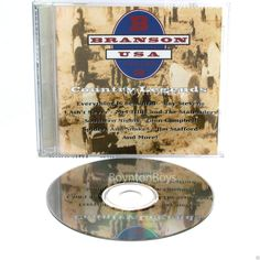 Branson USA  Vol 3 Country Legends (CD, Jun-1993, Priority) RARE OOP + Near Mint #NashvilleSound