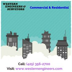 Hire the best professional land surveyors  Western Engineers & Surveyors are dedicated to providing our clients with the highest quality service and fast response times,we provide our service in both commercial and residential places. For more details, Call us: (425) 356-2700 or visit our site: http://westernengineers.com/