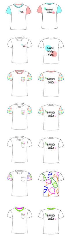 Digitale Schetsen T-Shirt