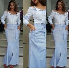Indian Designer Outfits, Designer Dresses, Chic Outfits, Dress Outfits, Modest Fashion, Fashion Dresses, Plus Size Skirts, African Attire, Clothes For Women