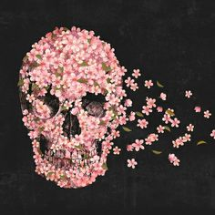 """""""A Beautiful Death"""" Art Print by Terry Fan on Society6."""