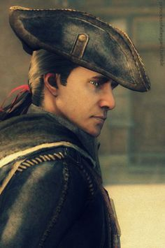 Haytham Kenway. A disgrace to his family. Templar Scum.