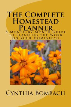 The Complete Homestead Planner