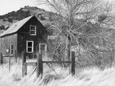 Old homestead located in Nevada.