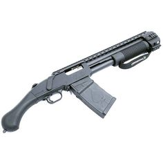 We have successfully converted a Mossberg Shockwave to mag fed. We are working on a plan to convert customers weapons to… Tactical Shotgun, Tactical Gear, Weapons Guns, Guns And Ammo, Rifles, Arsenal, Mossberg Shockwave, Firearms, Shotguns