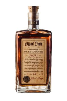 Product Launch - Luxcos Blood Oath Bourbon