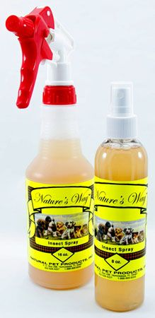 Natural herbal insect spray