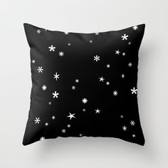 Let it snow Throw Pillow by cafelab - $20.00