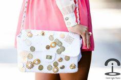 Bolso con monedas inspirado en Dolce & Gabbana