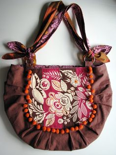 Bonsai Bag Sewing Pattern by Rae